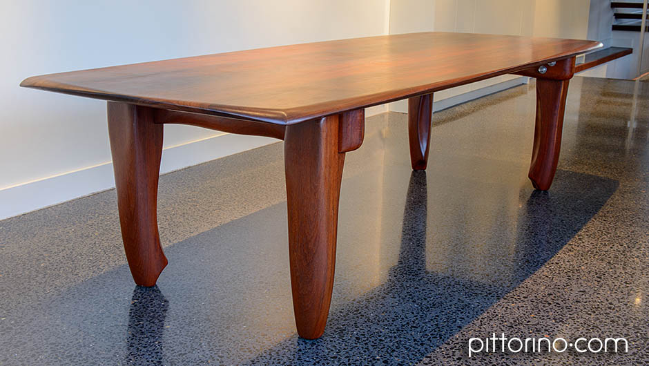 'milonga' hand shaped timber dining / boardroom table, Sydney, Australia
