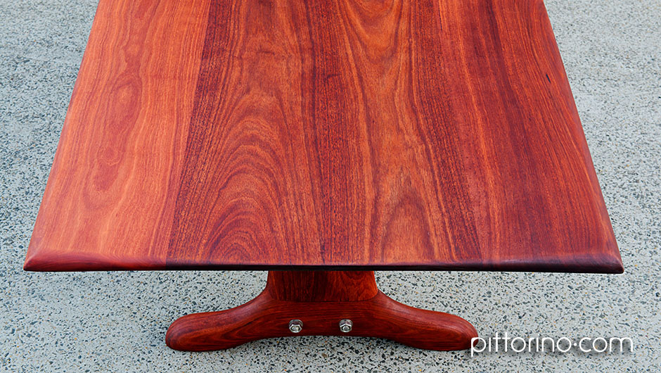 'colossus' hand shaped timber dining / boardroom table