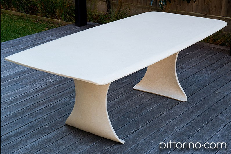 bespoke concrete furniture series - outdoor table, Sydney, Australia